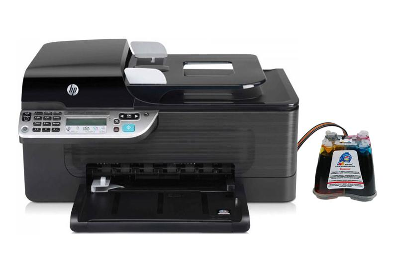 МФУ HP OfficeJet 4500 с СНПЧ