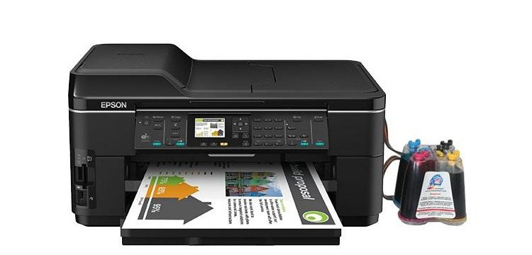МФУ Epson WorkForce WF-7515 с СНПЧ