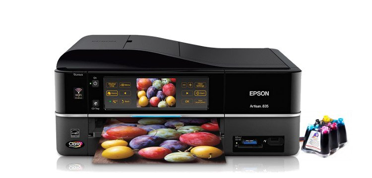 МФУ Epson Artisan 835 Refurbished с СНПЧ