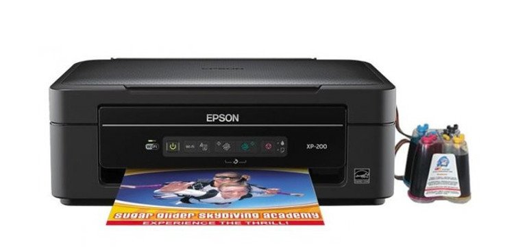 МФУ EPSON Expression Home XP-200 с СНПЧ