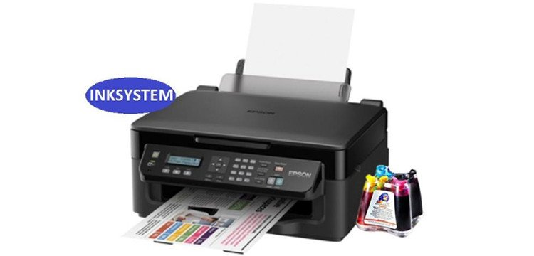 МФУ Epson Workforce WF-2510WF с СНПЧ