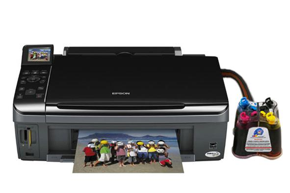 МФУ EPSON Stylus Office SX515W с СНПЧ