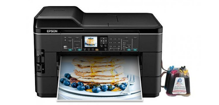 МФУ Epson WorkForce WF-7520 Refurbished с СНПЧ
