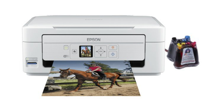 МФУ Epson Expression Home XP-312 с СНПЧ