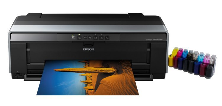 Принтер Epson Stylus Photo R2000 с СНПЧ (США)