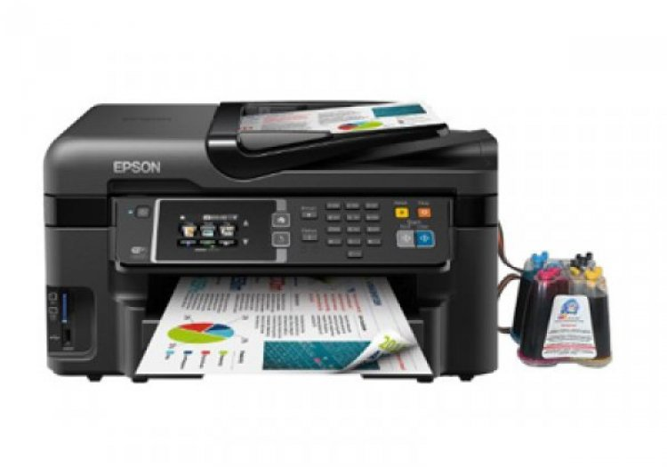 МФУ Epson Workforce WF-3620DWF Refurbished с СНПЧ