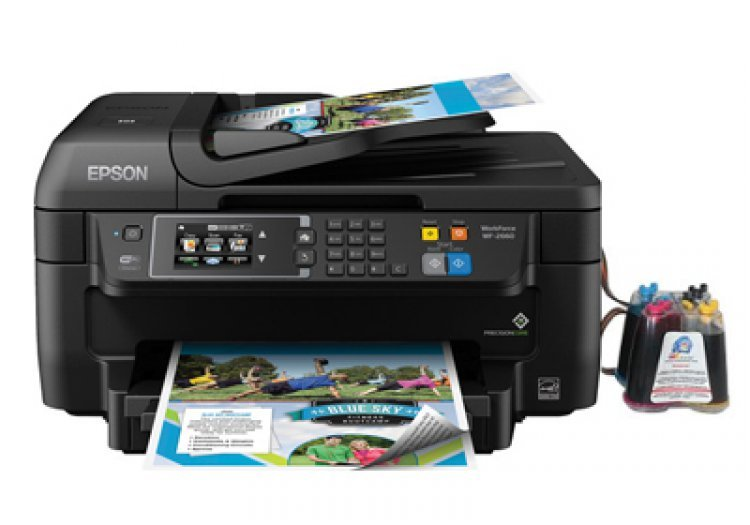 МФУ Epson Workforce WF-2660 Refurbished с СНПЧ