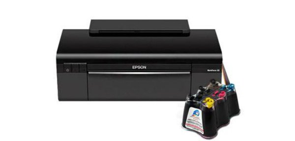 Принтер Epson Workforce 30 с СНПЧ (C11CA19201)