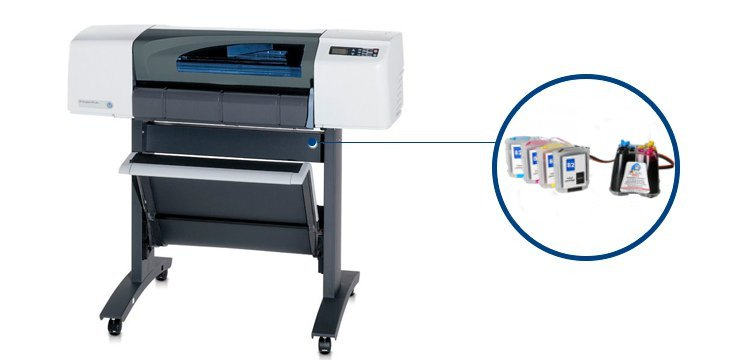 Плоттер HP DesignJet 500 Plus 24