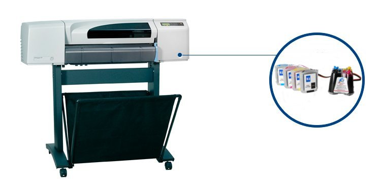 Плоттер HP DesignJet 500 Plus 42
