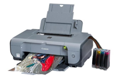 Принтер Canon PIXMA iP3300 с СНПЧ