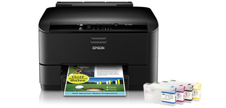 Цветной принтер Epson WorkForce Pro WP-4020 с ПЗК