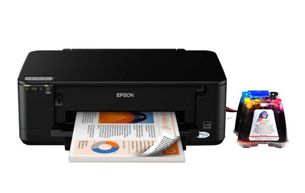 Принтер Epson WorkForce 60 с СНПЧ  (C11CA77201)