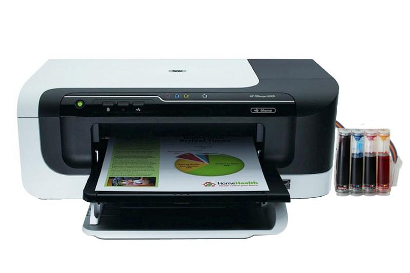 Принтер HP OfficeJet 6000 с СНПЧ