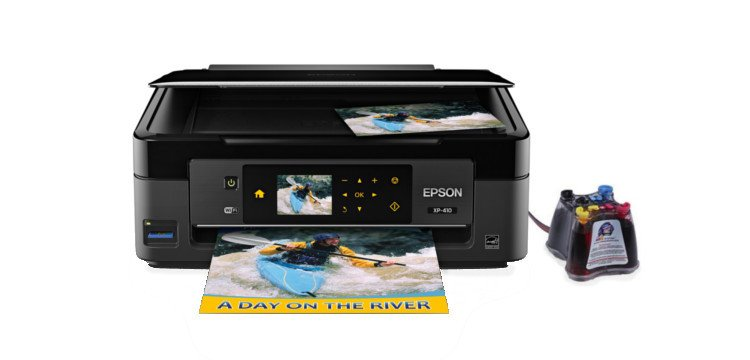 МФУ Epson Expression Home XP-410 с СНПЧ