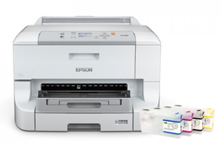 Принтер Epson WorkForce Pro WP-4123 с ПЗК