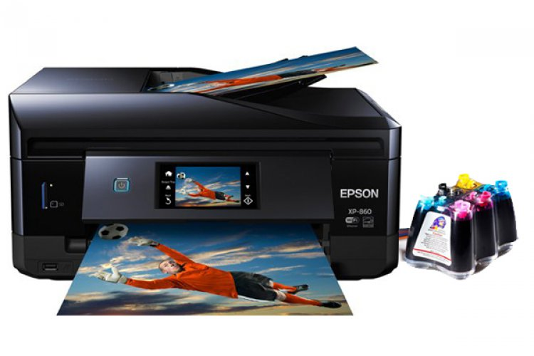 МФУ Epson Expression Photo XP-860 с СНПЧ