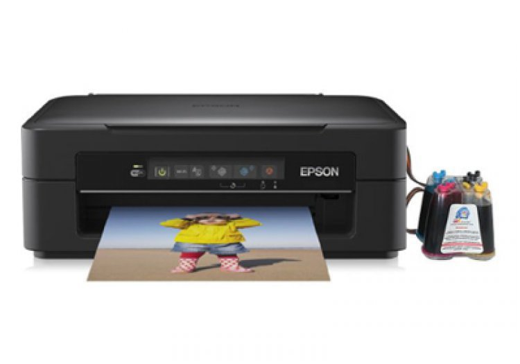 МФУ Epson Expression Home XP-225 с СНПЧ